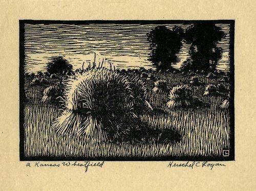 A Kansas Wheatfield - Page