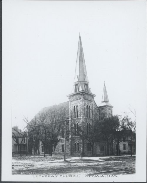 Luthern church in Ottawa, Kansas - Page