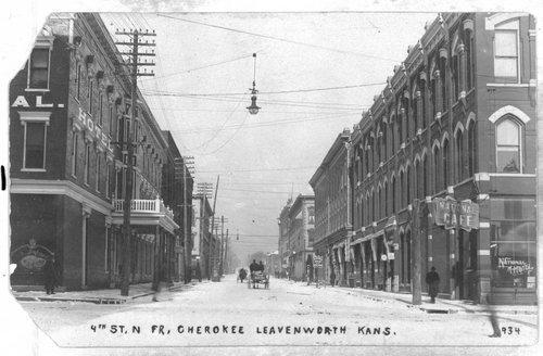 Fourth Street in Leavenworth - Page