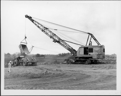 Construction of the Franklin County reservoir in Kansas - Page