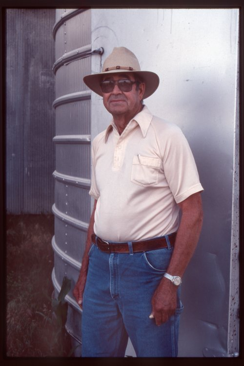 Vernon Thiessen, farmer in Beloit, Kansas - Page