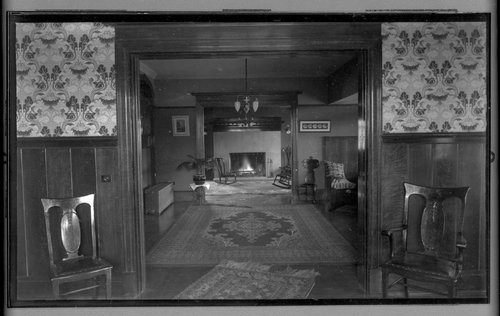 Interior of the H. A. Dunn residence - Page