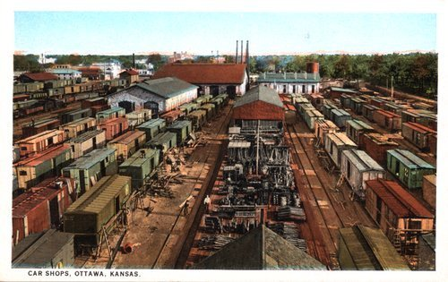 Railroad car shops in Ottawa, Kansas - Page