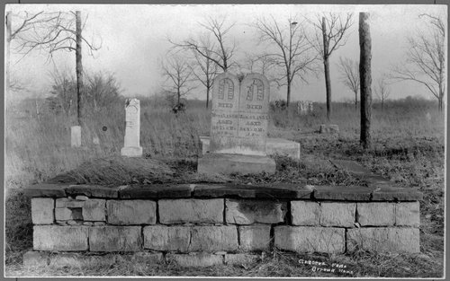 Gravestones of Rev. Jotham Meeker and  Eleanor Meeker - Page