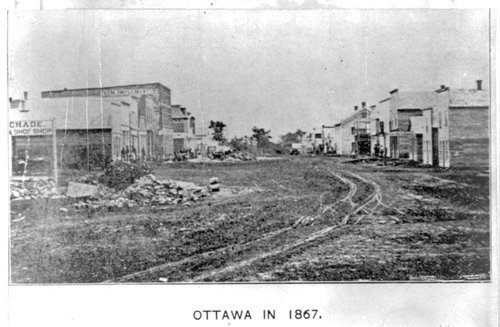 Early scenes on Main Street in Ottawa - Page
