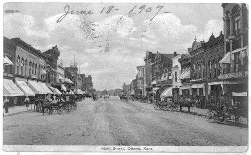 Ottawa's Main Street in 1907 - Page