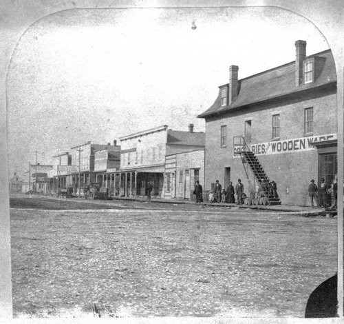 Commercial buildings at Second and Main streets in Ottawa, Kansas - Page