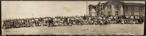 Secondary and primary school students, Cimarron, Kansas - Page