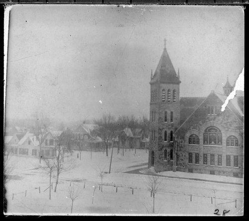 Snow storm in Ottawa, Kansas - Page