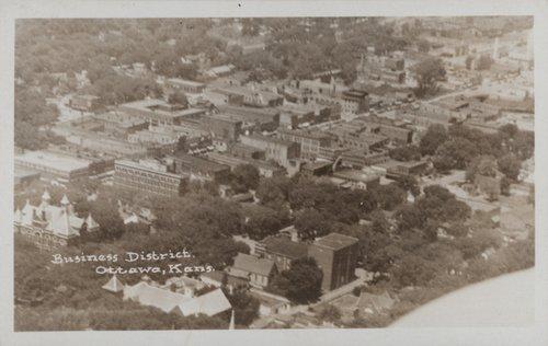 Ottawa Kansas business district - Page