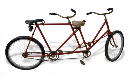 Tandem bicycle - Page