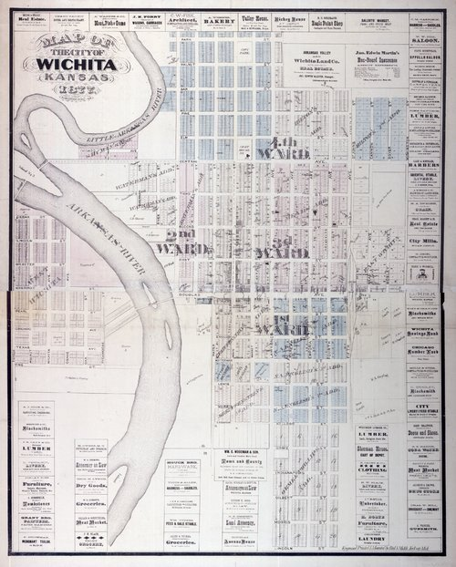 Map of the city of Wichita, Kansas - Page