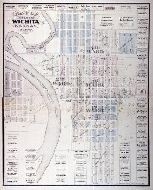 Map of the city of Wichita, Kansas - Page