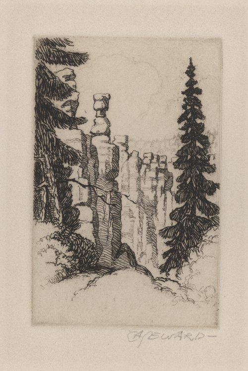 A Corner of Bryce Canyon - Page