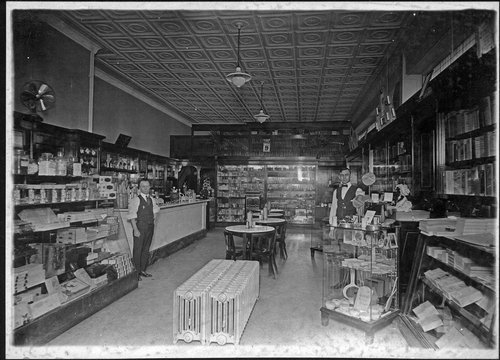 Store and soda fountain in Colony, Kansas - Page
