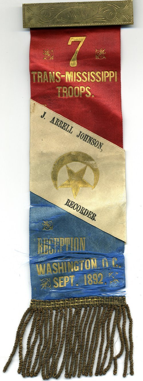 Seventh Army Corps veterans organization fraternal ribbon - Page