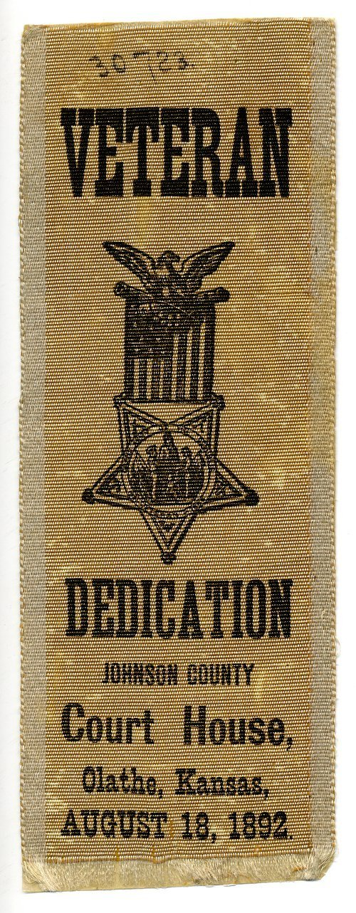 Grand Army of the Republic fraternal ribbon - Page