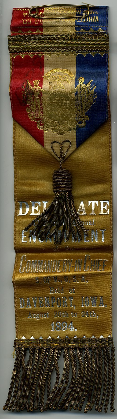 Sons of Veterans fraternal ribbon - Page