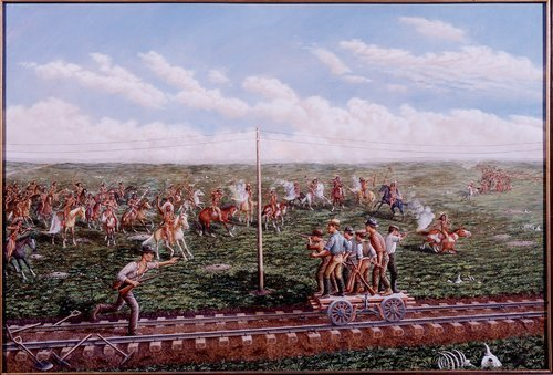 Indian Attack near Russell, Kansas - Page