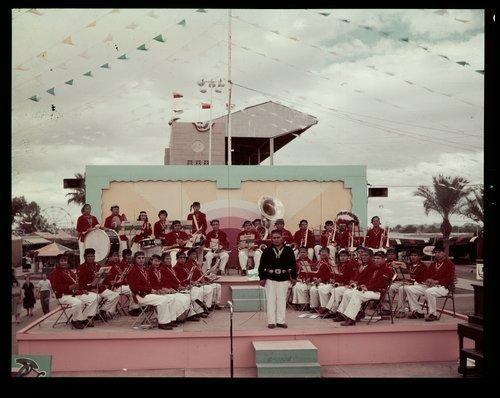 Atchison, Topeka & Santa Fe Railway Company band, Phoenix, Arizona - Page