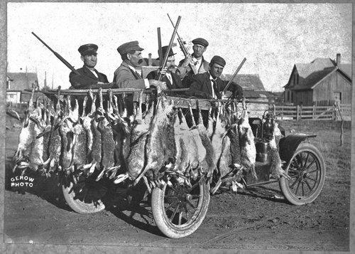 Hunters, Meade, Kansas - Page