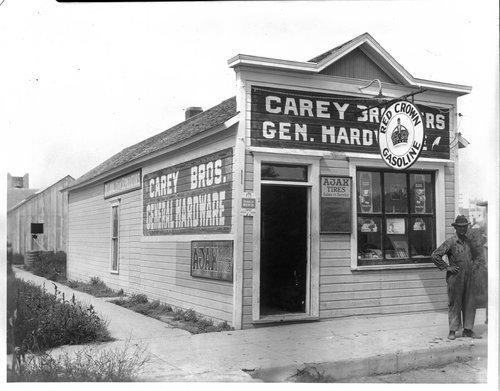 Carey Brother's general hardware store, Tribune, Kansas - Page