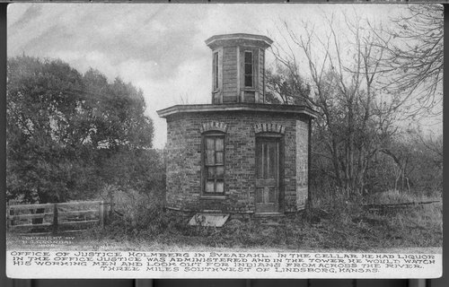 Justice Holmberg's office, Sveadahl, Kansas - Page