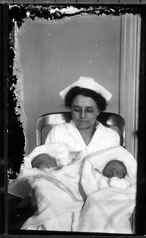Nurses and babies - Page