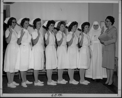 St. Francis Hospital, student nurses, Wichita, Kansas - Page