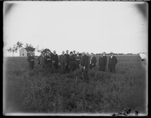 Turning first sod for a new dormitory in Wichita, Kansas - Page
