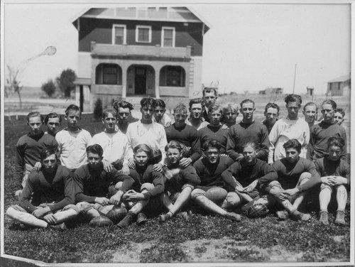 Cimarron High School football team in Cimarron, Kansas - Page