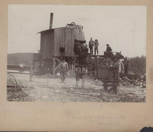 Mining scene, Cherokee County, Kansas - Page