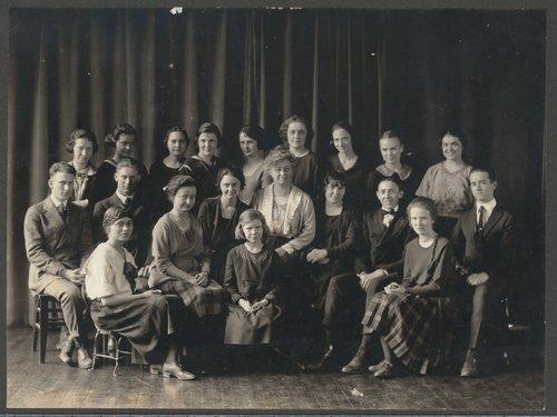 Philomelian Club at Wichita High School, Wichita, Kansas - Page