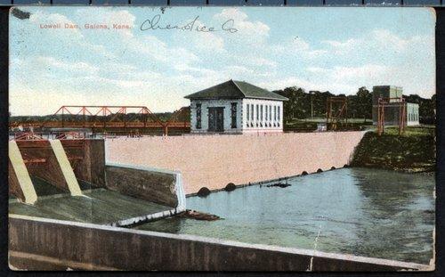 Lowell dam, Galena, Kansas - Page