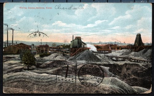 Mining scene, Galena, Kansas - Page