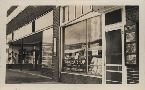 The Gem Shop and J. C. Penney store in Minneapolis, Kansas - Page