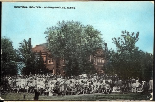 Central School in Minneapolis, Kansas - Page