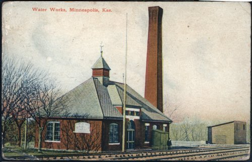 Water works in Minneapolis, Kansas - Page