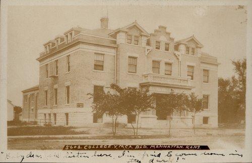 College Y. M. C. A. in Manhattan, Kansas - Page