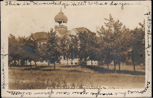 High school in Peabody, Kansas - Page