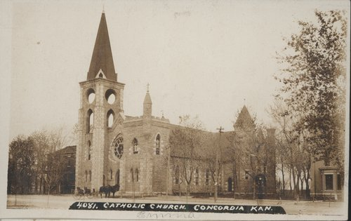 Catholic Church in Concordia, Kansas - Page