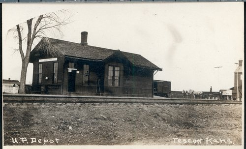 Union Pacific Railroad Company depot, Tescott, Kansas - Page
