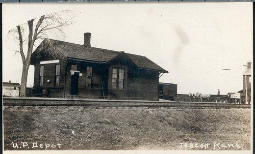 Union Pacific Railroad Company depot, Tescott, Kansas - Page