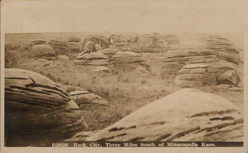 Rock City near Minneapolis, Kansas - Page