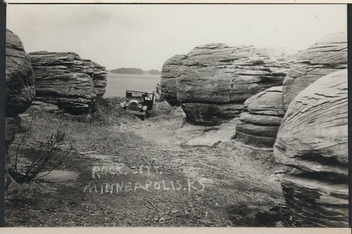 Rock City near Minneapolis, Kansas - Page
