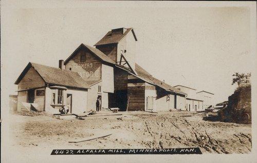 Alfalfa mill in Minneapolis, Kansas - Page