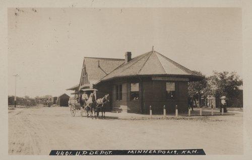 Union Pacific Railroad Company depot Minneapolis, Kansas - Page
