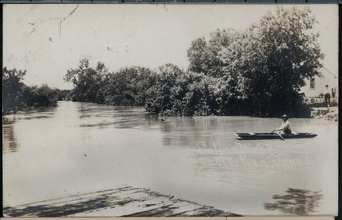 Flooding at Tescott, Kansas - Page