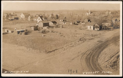 View of Tescott, Kansas - Page