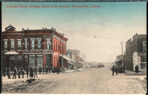 Concord Street in Minneapolis, Kansas - Page